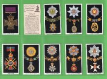 Cigarette cards British Orders of Chivalry & Valour